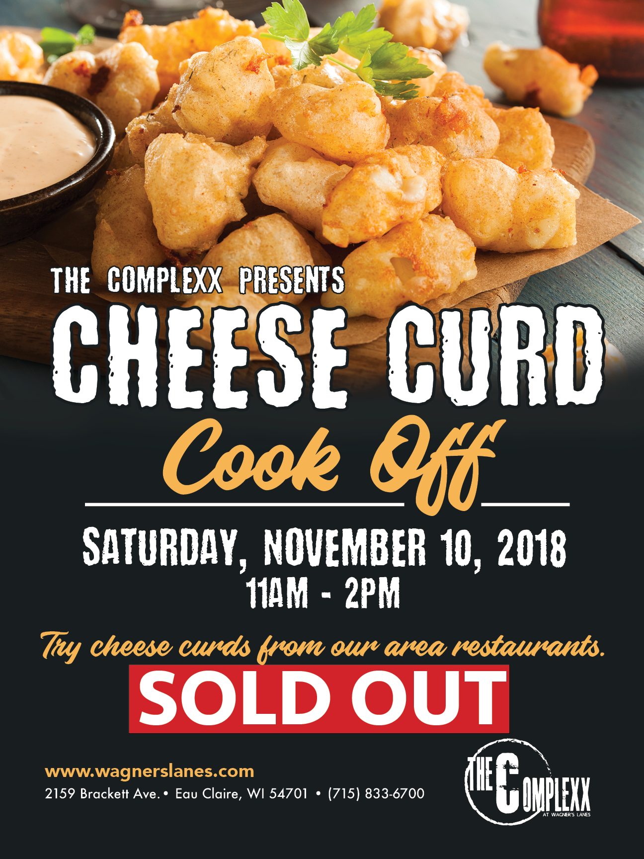 Cheese Curd Cook Off